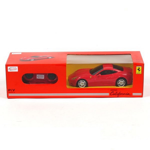 Машина р/у 1:24 Ferrari California, цвет красный